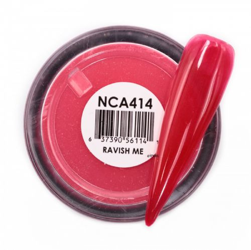 GLAM AND GLITS NAKED COLOR ACRYLIC - NCAC414 RAVISH ME